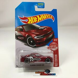 '15 Dodge Charger SRT * Red Edition Target Only * 2017 Hot Wheels * WK3
