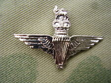 British Army Parachute Regiment Silver Metal Para Beret/Cap Badge Lapel/Tie Pin
