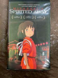 Spirited Away Miyazaki's VHS Clamshell Disney 2001