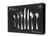 STANLEY ROGERS Baguette 70 Piece Cutlery Quality Stainless Steel