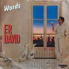 "F.R. DAVID - Words (7"") (VG/VG)"