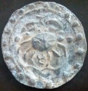 18th circa.--S. E. ASIA--ANCIENT COIN---CRAB/COW---38 mm.