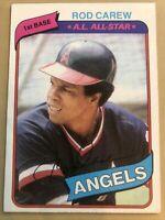 1980 Topps #700 Rod Carew Baseball Card