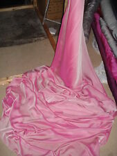 1METER  NEW  DUSKY PINK   SMOOTH SOFT QUALITY CHIFFON 58WIDE