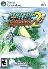 AIRLINE TYCOON 2 for PC DVD-ROM SEALED NEW