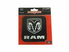 Dodge Ram Hitch Cover Black & White Ram Fits All Rams 1500 2500 3500 1994-2013