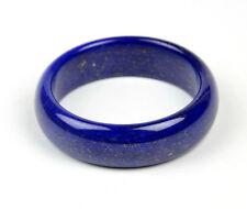 53mm Natural Lapis Lazuli Gemstone Wide Bangle Small Size Bracelet