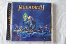 Megadeth: Rust in Peace (1990 METAL) Remastered CD, incl. 4 bonustracks, come nuovo
