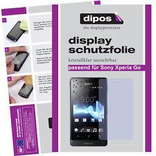 2x Sony Xperia Go ST27i Schutzfolie klar Displayschutzfolie Folie unsichtbar