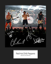 RED HOT CHILLI PEPPERS #3 10x8 SIGNED Mounted Photo Print - FREE DELIVERY
