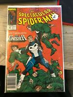 The Spectacular Spider-Man #141 1988 Punisher Tombstone Marvel Comics