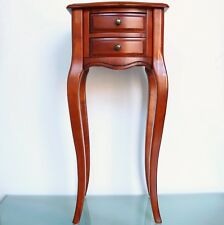 Vintage CABINET Victorian Furniture Baroc 2 Drawers Semi GLOSS Mid Century WOOD