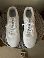 Mens Adidas ZX Flux Trainers White. Size 13