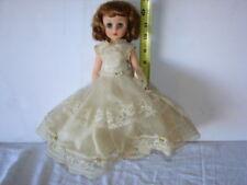 Vintage 1950s American Character Sweet Sue Sophisticate Doll WEDDING DRESS 13 IN
