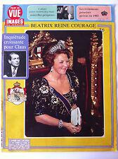 POINT DE VUE du 7/01/1983; Beatrix Reine Courage/ Affaire Andrew-Koo Stark