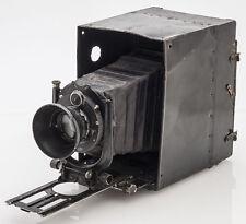 Balgenkamera Kamera Metallgehäuse m. Voigtländer Anastigmat Skopar 16,5cm f/4.5