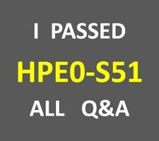 67-Q&A Building HPE Data Center Solutions Test HP0-S51 HPE0-S51 PDF
