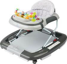ib style® Babywalker LITTLE WORLD grau Lauflernhilfe Gehfrei Babyschaukel BWARE