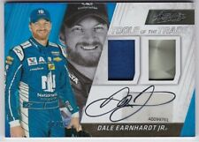 DALE EARNHARDT JR 2017 PANINI ABSOLUTE TOOLS OF THE TRADE DOUBLE SIGNATURE 25