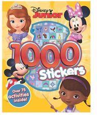 DISNEY JUNIOR - 1000 Stickers & 75 + Activities by Parragon Books **NEW