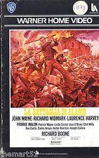 La battaglia di Alamo (1960) VHS Warner Home 1a Ed. - John Wayne