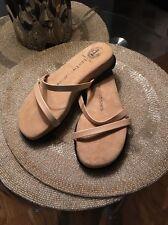 LES TROPEZIENNES PAR Leather Sandals Flip Flops EUR 37 US 7.0 MADE IN ITALY