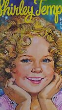Vintage 1976 Shirley Temple Paper Dolls book uncut Whitman