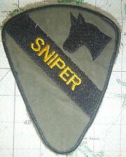SNIPER - Elite Patch - US 1st CAVALRY DIVISION - AIR CAV - Vietnam War - 2452