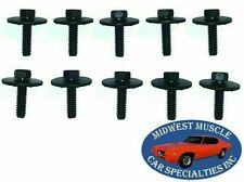 Ford Lincoln Mercury Body Fender Frame Factory Correct 1/4-20 Bolt Bolts 10pcs B