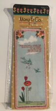 Mary Engelbreit Mary & Co Magnetic Bookmark Pink Light Blue