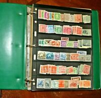 CatalinaStamps:  Bulgaria Stamp Collection in Stock Book, 732 Stamps, #D253