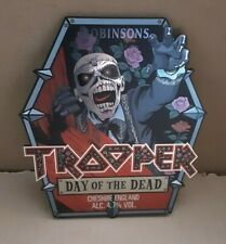 More details for iron maiden trooper new day of the dead plastic pump clip complete robinson