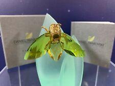 Swarovski Crystal Mint Figure Paradise Bugs Akima Medium Fly Olive Green