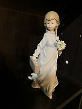 Lladro 7604 School Days Collectors Society 1988