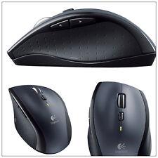 Logitech M705 Laser-Maus schnurlos schwarz Computer PC Spiele Zocker Gamer WOW