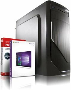 Intel Core i7 4770 Computer Business PC • 16GB • 256GB SSD + 1TB •  Win10 • USB3