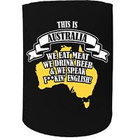 Stubby Holder - stubby this is australia cool - Funny Novelty Birthday Koozie