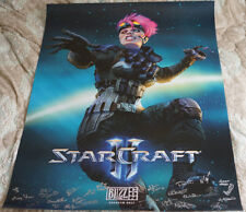 Blizzcon 2017 Official StarCraft II 2 Signed Poster