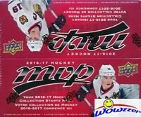 2016/17 Upper Deck MVP Hockey MASSIVE Factory Sealed 36 Pack Retail Box !!