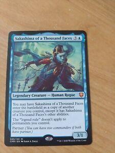 Sakashima of a Thousand Faces x 1 NM MTG magic commander legends
