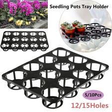 Gardens Supplies Germination Holder Planting Tray Nursery Pots Basin Bracket