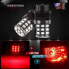 2X High Power AX-2835 Chipsets 3056 3156 3157 LED Bulbs For Brake/Tail Light Red