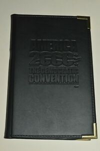 Vintage 2000 Democratic Convention Los Angeles Notepad 5X8 Folder Mint Condition