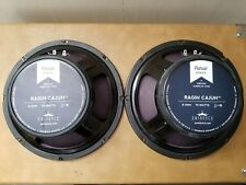Eminence Ragin Cajun 10in Guitar Speaker Pair BARELY USED!!!