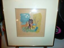 """Charles Cobelle Color Lithograph """"Central Park Zoo"""""""
