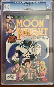 Moon Knight #1 - CGC (9.8) - Origin Story & 1st App in own Title - Marvel 1980