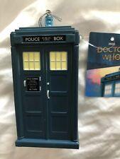 Doctor who  13th Doctor  tardis  Hanging   christmas  Tree  Ornament Model