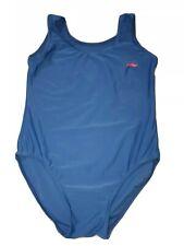 "Boy's Blue Lycra Gymnastics Leotard Size 32"""