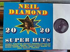 NEIL DIAMOND LP: 20 SUPER HITS (D; Bellaphon – BS 45006)