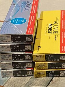 Acuvu Moist & Oasys includes 55 Lens BRAND NEW With  UV Blocking View Photos